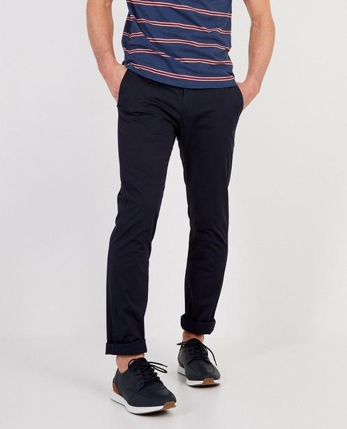 Pantalons - navy - Chino bleu foncé Hampton Bays