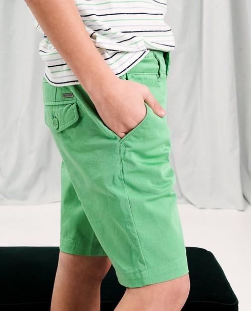 Short en coton communion - poches à rabat - JBC
