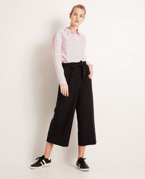 Jupe-culotte - viscose, taille élastique - Groggy