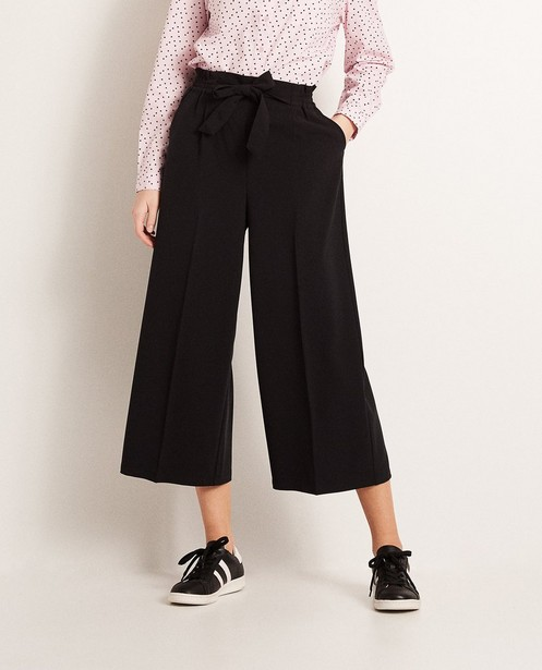 Pantalons - black - Jupe-culotte