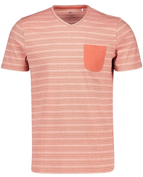 T-shirt à fines rayures - slim fit - JBC