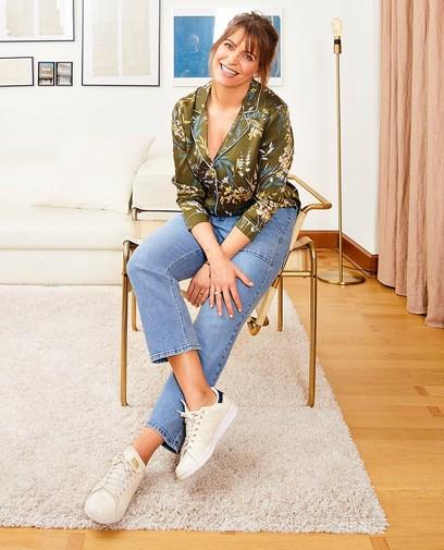 Jeans délavé Karen Damen