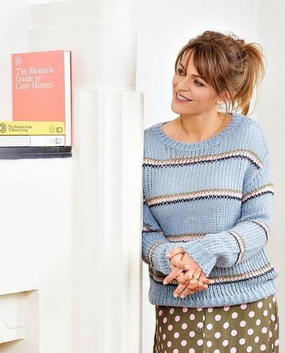 Pull en tricot de luxe Karen Damen