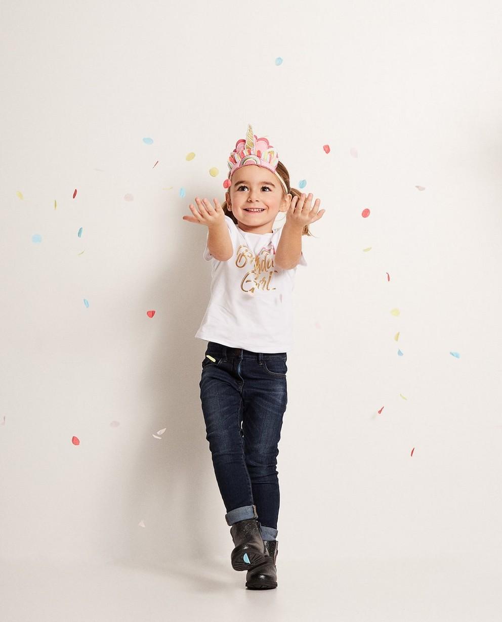 Verjaardagssetje: T-shirt + masker - en confetti - JBC