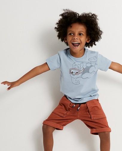 T-shirt met Samson print
