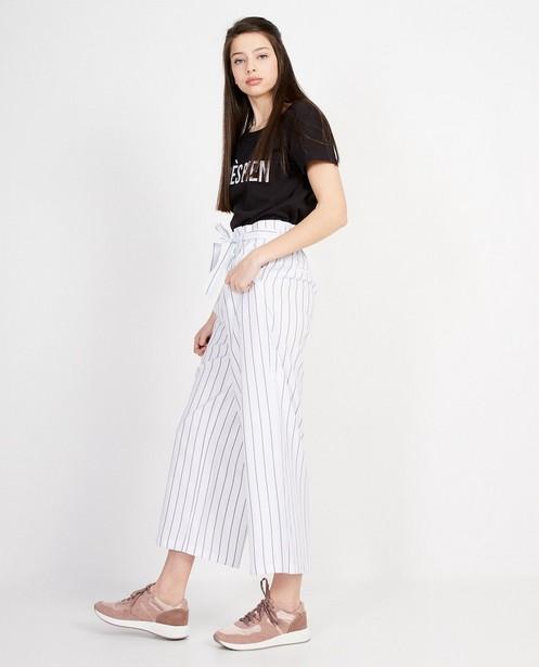 Pantalon souple rayé  - En blanc - Groggy