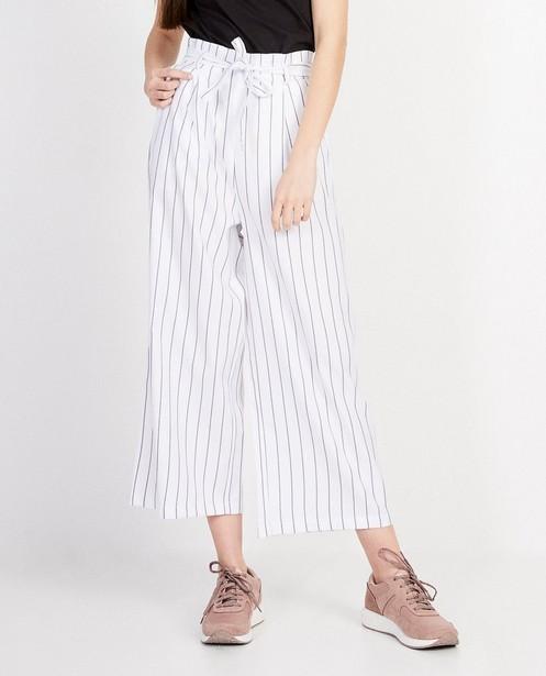 Pantalons - Pantalon souple rayé