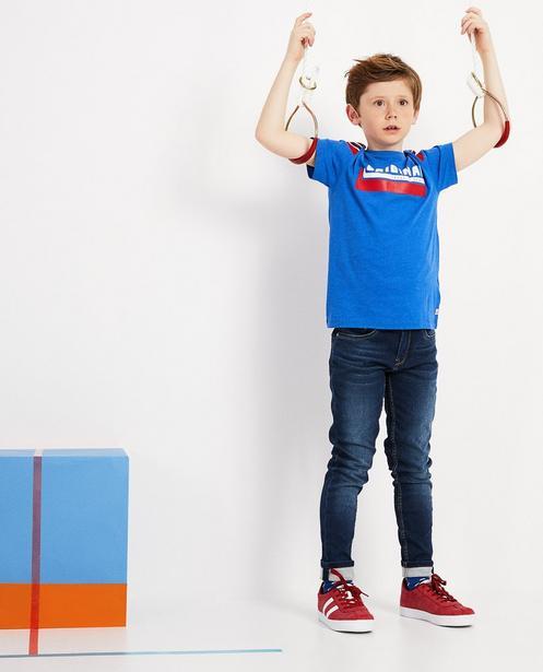 T-Shirt mit Aufschrift - Meliert - JBC
