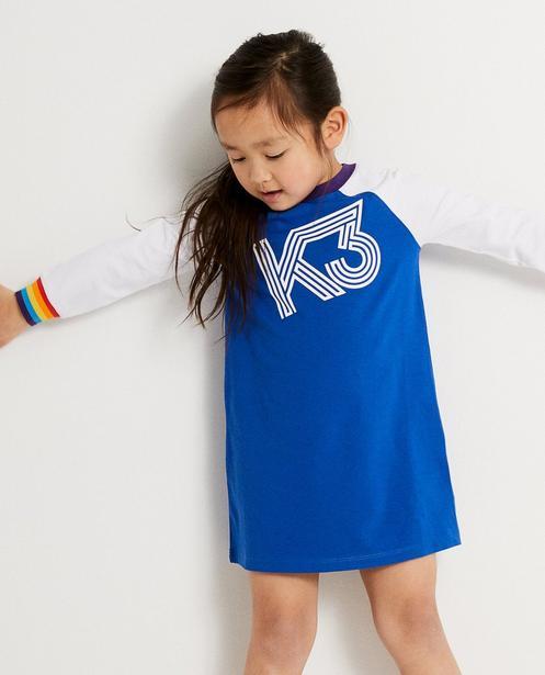 Nachtwäsche - Aqua - Kleid mit Aufschrift K3