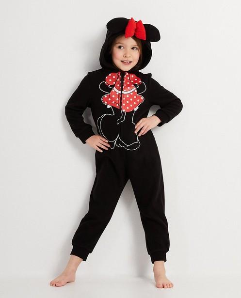 Onesie met print en strik Mickey - Mickey - Mickey