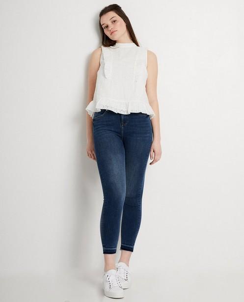 Skinny jeans Katja Retsin - Met rafels - Katja Retsin