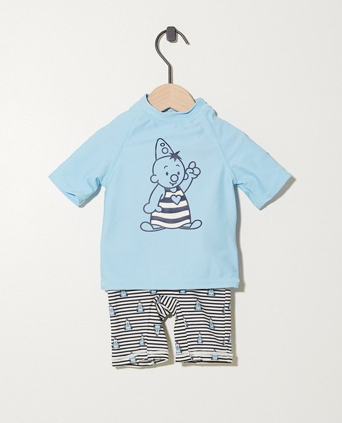 T-shirt et short de bain Bumba, protection UV - avec des rayures - Bumba