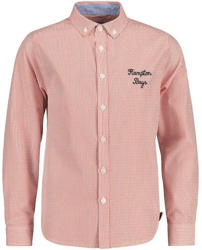 Fijn gestreept hemd Hampton Bays