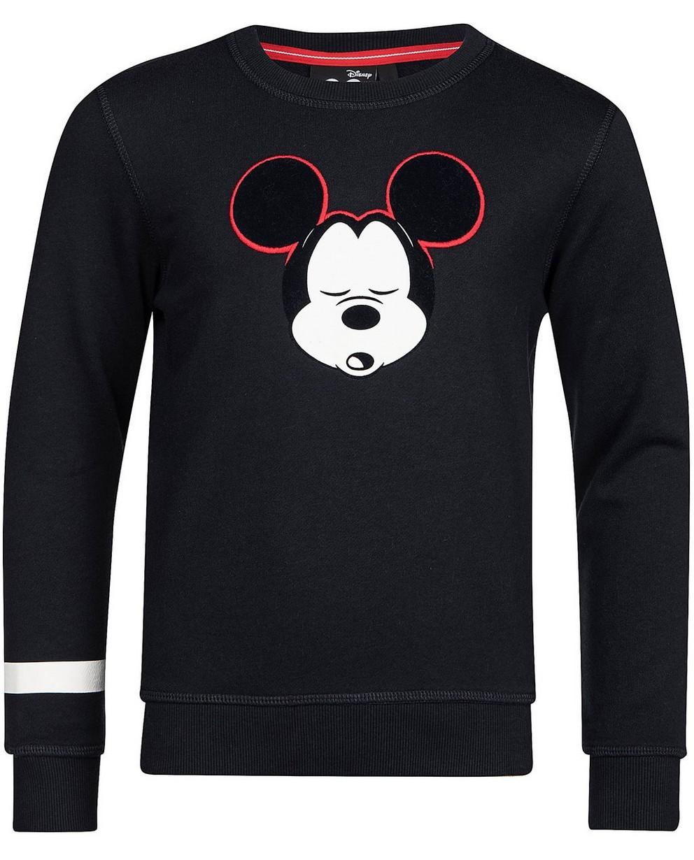 Sweater mit Reliefprint - Mickey - Mickey