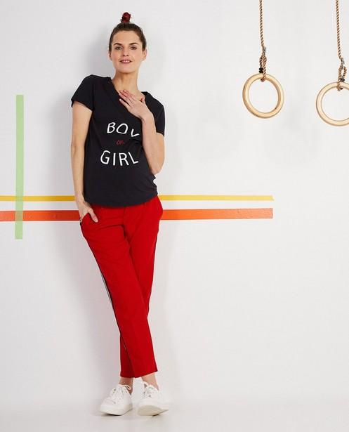 T-Shirt mit Aufschrift - aus Biobaumwolle - Joli Ronde