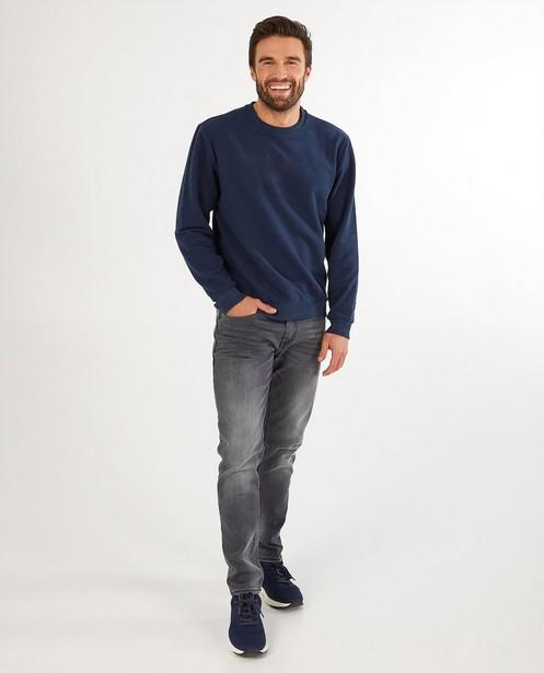 Blauwe kerstsweater, Studio Unique - personaliseerbaar - JBC