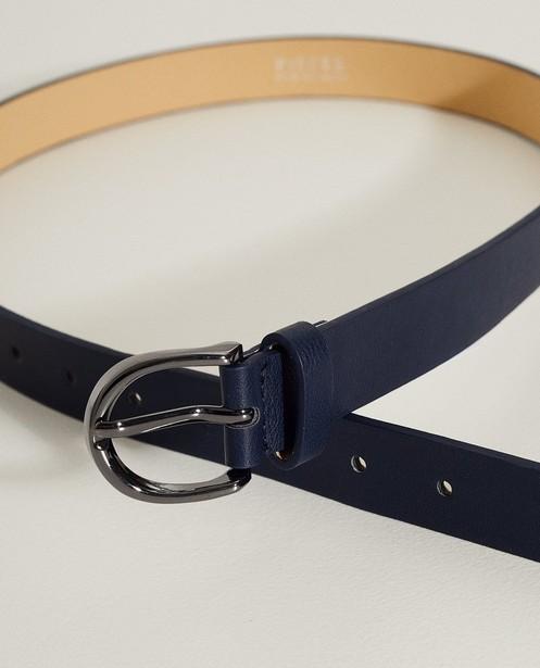 Riemen - BLM - Donkerblauwe riem Pieces