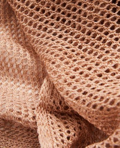 Ajourgebreide sjaal