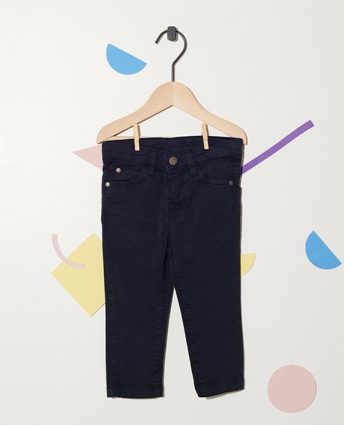 Pantalon en coton - avec taille ajustable - JBC