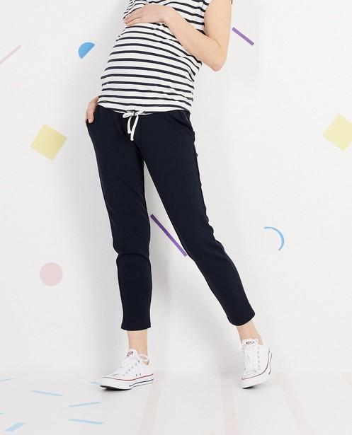 Pantalons - navy - Pantalon de grossesse JoliRonde