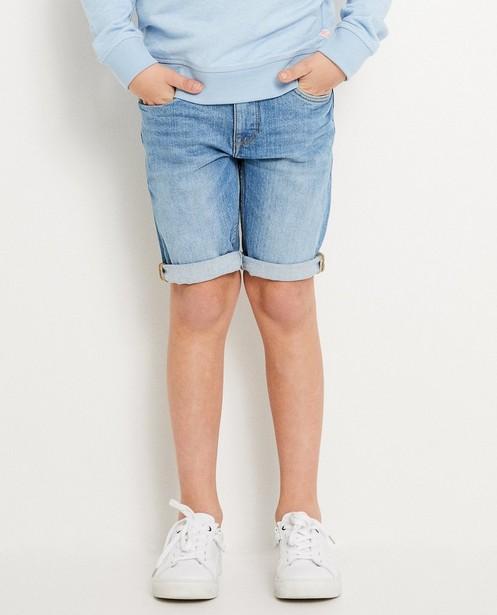 Shorten - BLM - Gerecyleerde denim short I AM