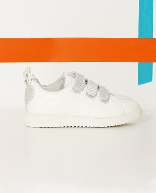 Sneakers met glitter - en velcro strips - Sprox