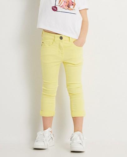 Gele jeans K3