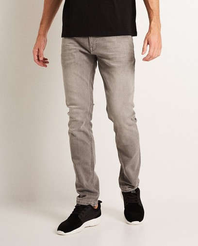 Jeans gris clair slim fit SMITH