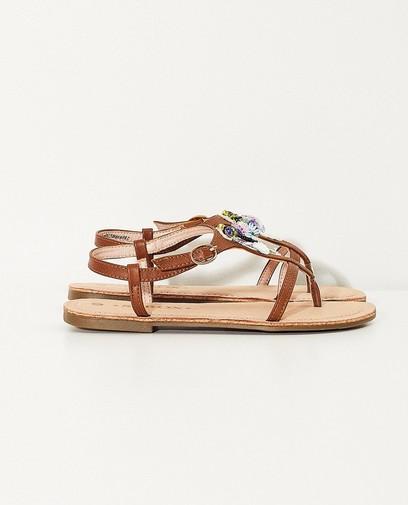 Sandales brunes, 33-38
