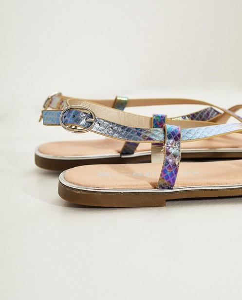 Chaussures - light turquise - Sandales, imprimé brillant