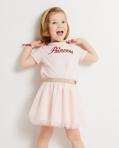 T-shirt rose Prinsessia