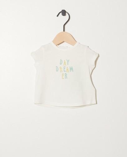 T-shirt van biokatoen