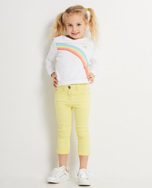 Sweater met regenboogprint - K3 - K3