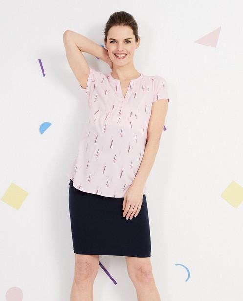 Chemises - AO6 - Blouse avec un imprimé  JoliRonde