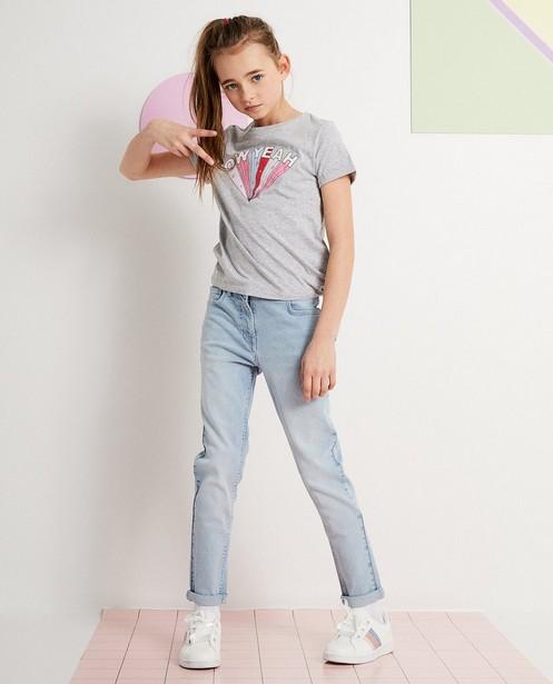 Jeans stretch bleu clair - denim - JBC
