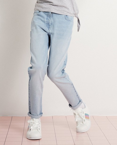 Jeans - light turquise - Lichtblauwe stretchjeans