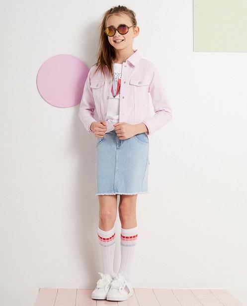 Jeansjasje  - In roze - JBC