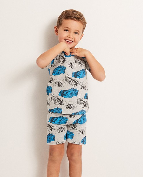 Nachtkleding - GSL - Grijze pyjama met print Rox