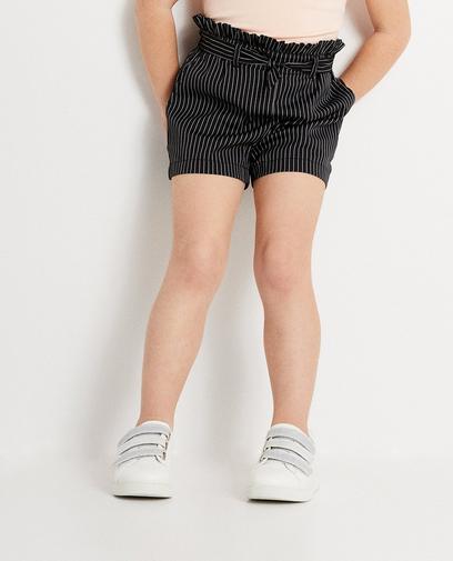 Pinstripe soepele short