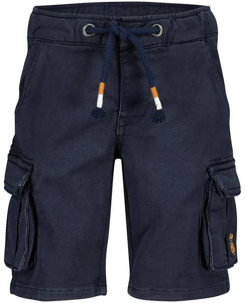 Short bleu Vic le Viking - ceinture à nouer - Vic le Viking