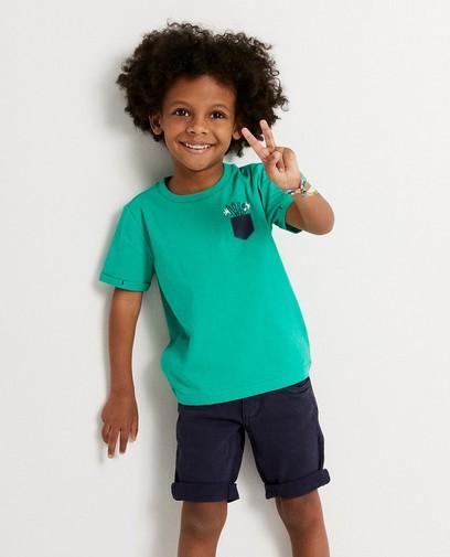 T-shirt vert Plop
