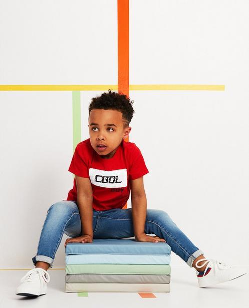 Swipe-T-Shirt - mit Aufschrift - JBC