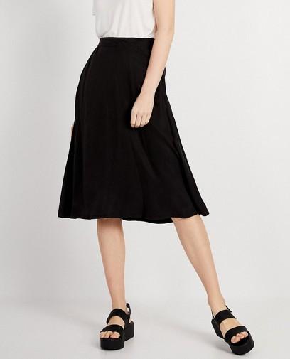 Zwarte rok Viscose