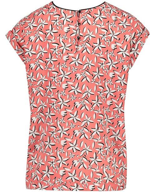 Hemden - AO4 - T-shirt met witte bloemenprint