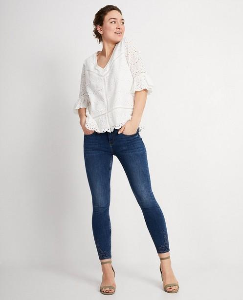 Witte blouse Katja Retsin - met tulpmouwen - Katja Retsin