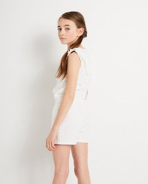 Jumpsuits - Witte jumpsuit Katja Retsin