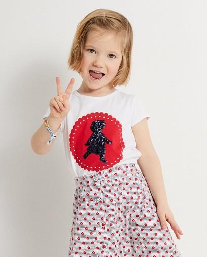 T-shirt met print Heidi