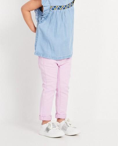 Lichtpaarse jeans Maya