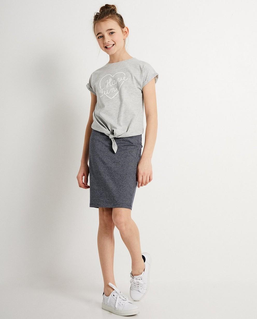 T-shirt rayé BESTies - et ceinture à nouer - Besties