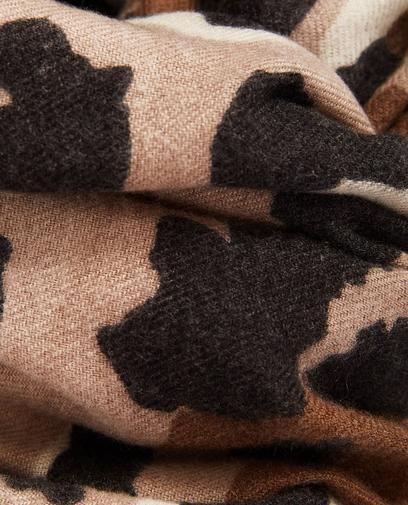 Sjaal met luipaardprint